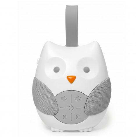 Skip Hop Moonlight & Melodies Stroll & Go Portable Soother - Owl